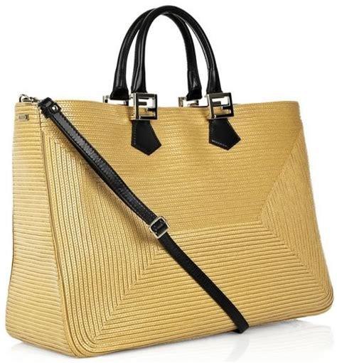 Name Katherine Heigls Designer Purse by Fendi Woven Raffia Shopper Revisited Worth The