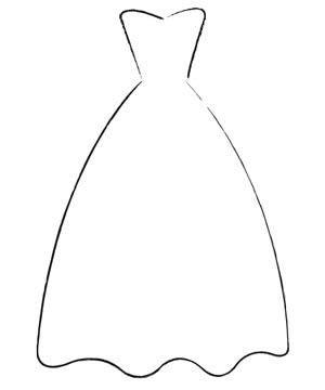 Wedding Dress Silhouettes Wedding Dresses Youandyourwedding Templates Pinterest Dress Wedding Outline Template