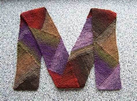 knitting pattern diagonal scarf knit one purr too m for multidirectional diagonal