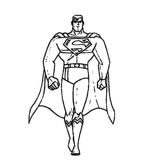 Picture Coloring Pages picture of superman az coloring pages