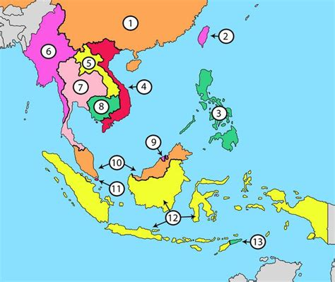 east and southeast asia map quiz southeast asia countries quiz by mr egan