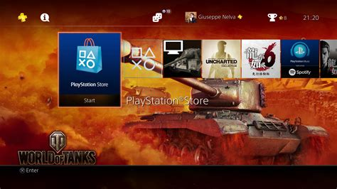 World Ps4 ps4 gets free world of tanks und panzer theme screenshots inside