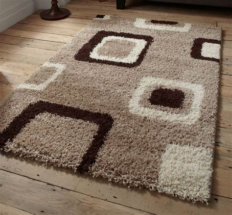 cheap brown rugs brown beige green check squares damask black shaggy modern rugs sold cheap ebay