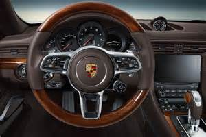 Porsche Interior Porsche 911 Gets Exclusive Interior Wood Trim