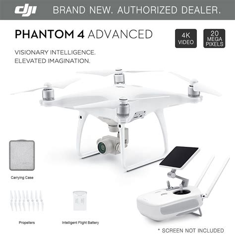 Dji Phantom 4 Advanced Drone dji phantom 4 advanced gps drone with 4k 20mp hd