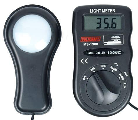 how to measure infrared light lichtmeter