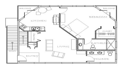floor plans with inlaw apartment in house plans with apartment in guest house small in house
