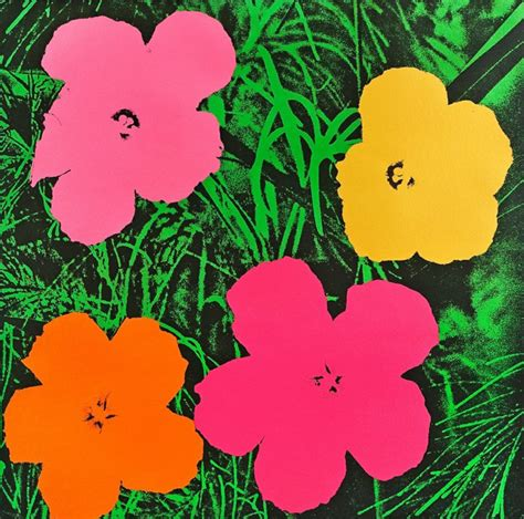 fiori di andy warhol andy warhol works and biography fresh