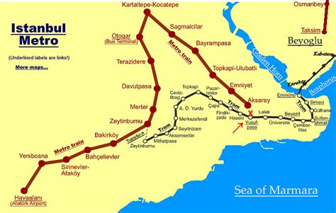 istanbul map tourist attractions h2diary travel in istanbul by tram by http www