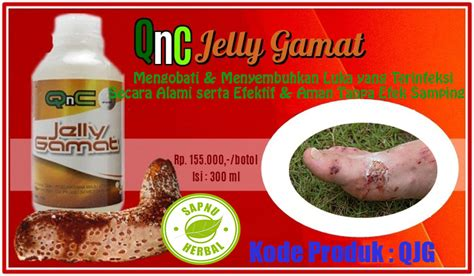 Obat Luka Infeksi Jelly Gamat Qnc cara mengobati infeksi pada luka secara alami dengan obat