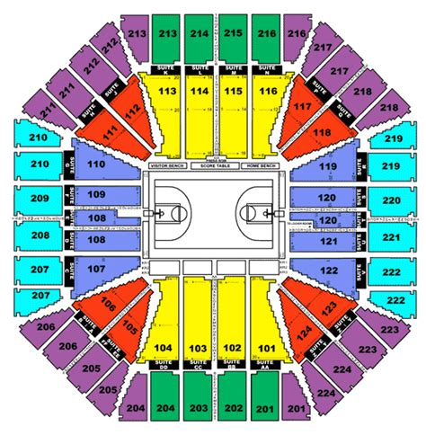 arena seating chart all the world arco arena seating chart