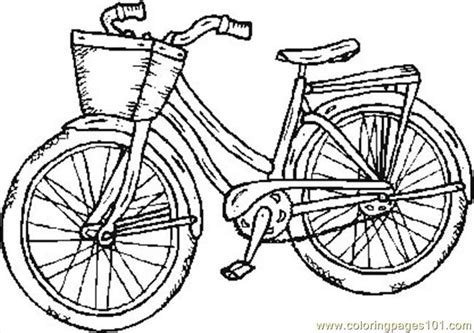 coloring pages old bike transport gt bikes free