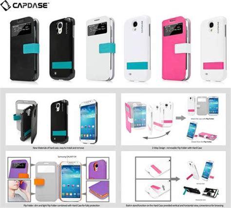 Capdase Folder Flip Cover Flip Samsung Galaxy S4 Black Ori dinomarket pasardino jual capdase smart belt id