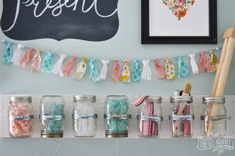 d i y make hanging mason jar craft storage 12monthsofdiy the