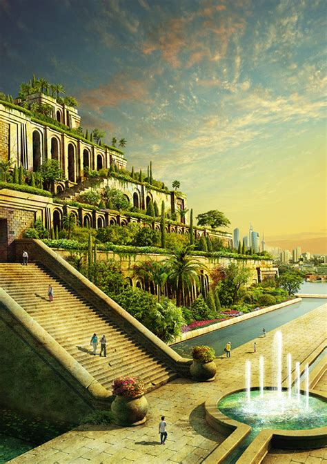 The Hanging Gardens Of Babylon by Ancient Wonders Of The World Today Simple Thing Called