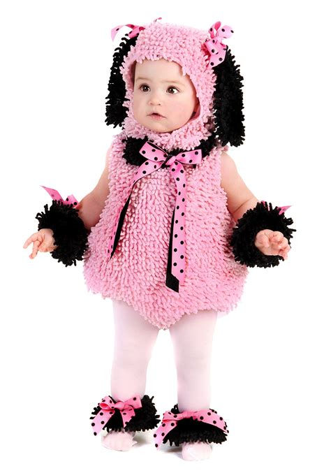 infant puppy costume baby pink poodle puppy costume infant costumes