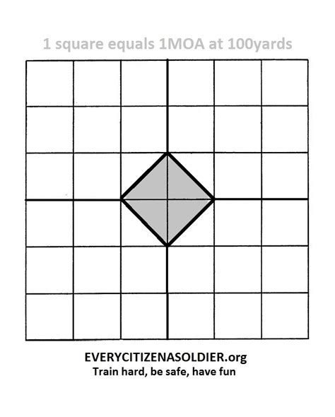 printable targets for zeroing printable targets