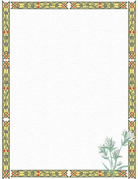 17 Stationery Border Designs Images Free Printable Stationery Templates Rose Page Borders For Downloadable Stationery Templates