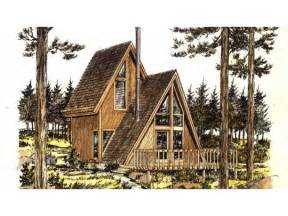Frame House Plans A Frame House Plan With 535 Square Feet And 1 Bedroom From