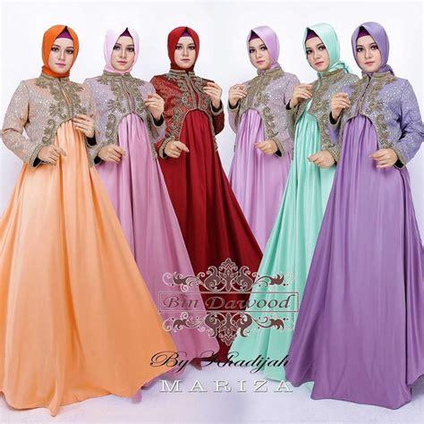 Baju Gamis Mariza Syari supplier baju muslim terbaru