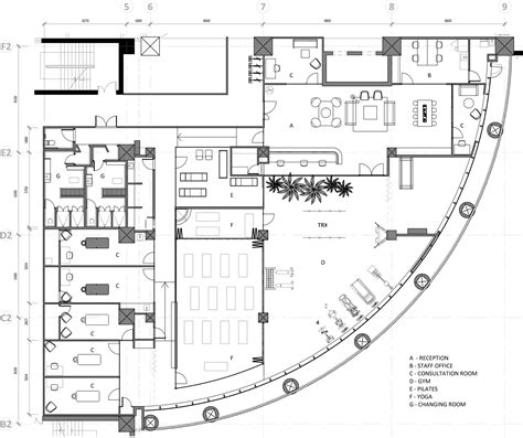 clinic floor plan gallery of the clinic hcreates 17