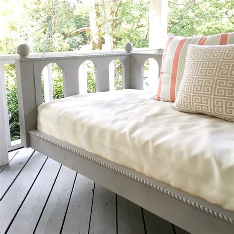 swing bed for sale a creative day our porch bed swing is done and for sale