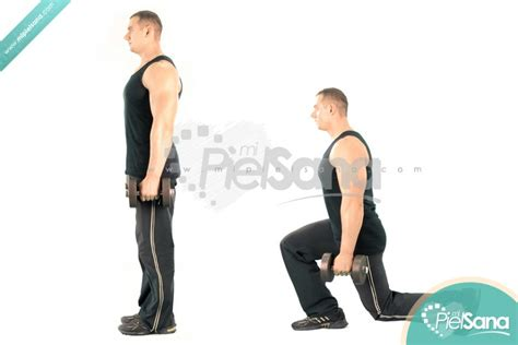 dumbbell bench lunges dumbbell lunge