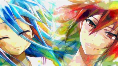 colorful life wallpaper watercolor sora shiro full hd wallpaper and background