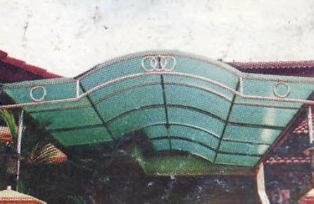 Jual Sho Metal Palembang jual kanopi palembang bengkel las baja stainless steel