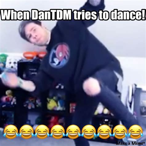 Dance Party Meme - 235 best images about dantdm on pinterest youtube gamer