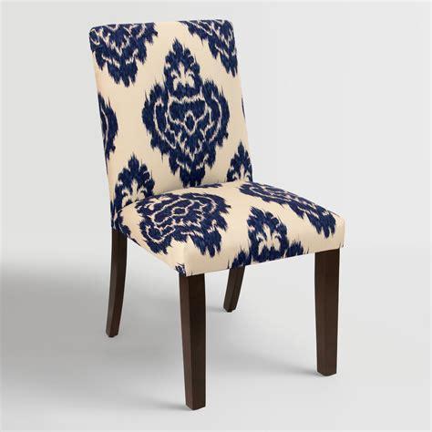 blue diamond kerri upholstered dining chair world market