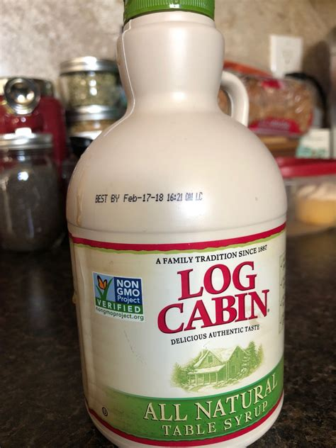 log cabin maple syrup  natural calories nutrition analysis  fooducate