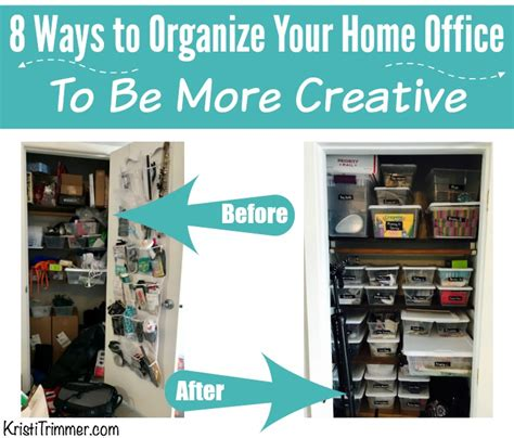 8 Ways To Arrange Your Books by 8 Ways To Organize Your Home Office To Be More Creative