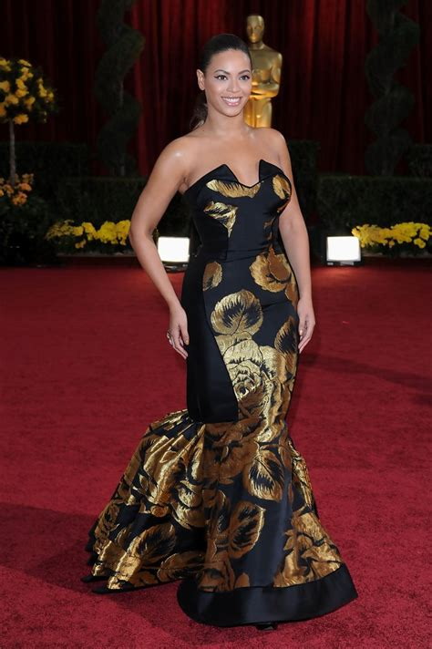 A Closer Look At The Oscars Beyonce Knowles by Beyonce Knowles In 81st Annual Academy Awards Zimbio
