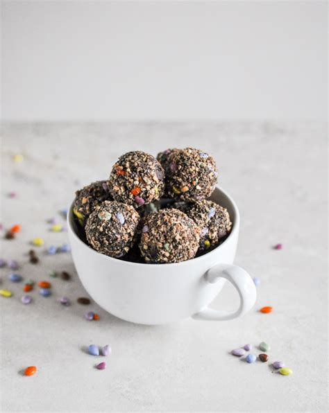 Sweet Garlic Snack Cemilan Cookies no bake chocolate peanut butter snack bites