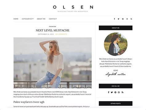wordpress email layout 50 free and professional looking wordpress themes to