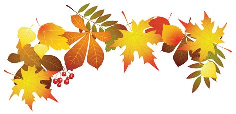 clipart autumn leaves fall clipart transparent pencil and in color fall