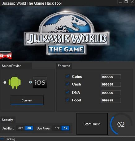 game mod tool for android jurassic world the game hack tool cheats free android ios