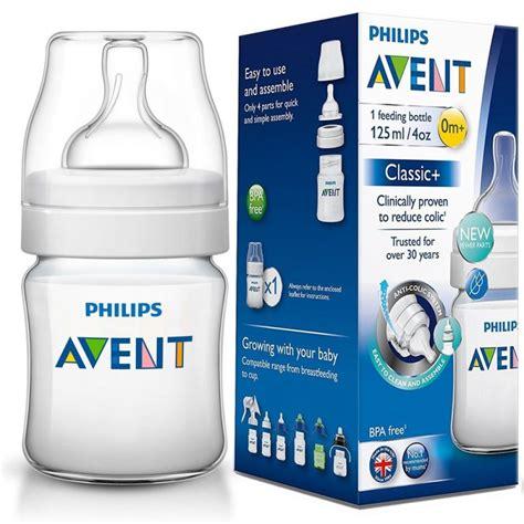 Diskon Avent Wide Neck Wideneck Bottle 125ml 125 Ml avent classic 4oz 125ml 0m feeding bottle original pakistan