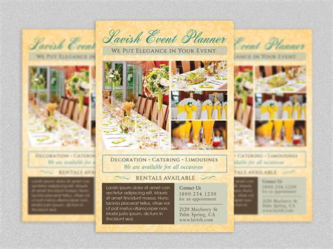 Wedding Planner Flyer by Event Planner Flyer Template By Godserv On Deviantart