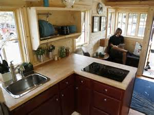 tumbleweed tiny house interior this wheels nicer than custom finished mobile