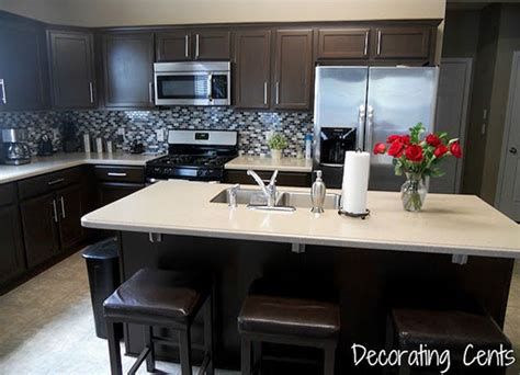 painting kitchen cabinets dark brown 8 low cost diy ways to give your kitchen cabinets a makeover