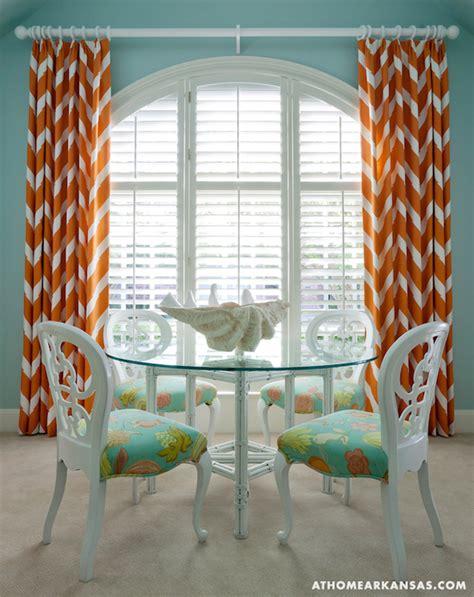 orange and turquoise curtains turquoise blue and orange drapes design ideas