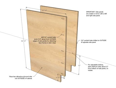 Plans For Building Kitchen Cabinets by Ana White 6 Quot Filler Tray Base Cabinet Momplex Vanilla