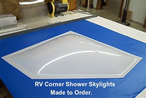 rv bathroom skylight replacement ez tops world wide manufacture acrylic and lexan skylights