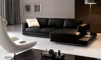 Black Livingroom Furniture by Living Room Decorating Ideas With Black Leather Furniture
