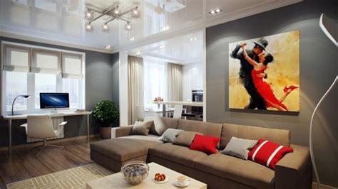 Braunes Sofa Welche Wandfarbe by 115 Sch 246 Ne Ideen F 252 R Wohnzimmer In Beige