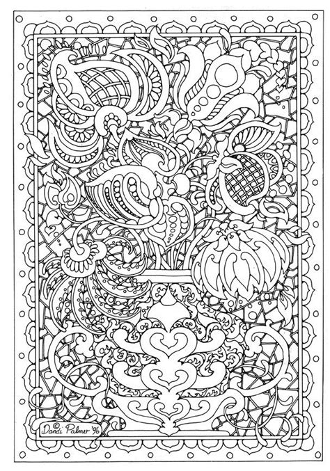 intricate coloring pages for adults printable difficult coloring pages az coloring pages
