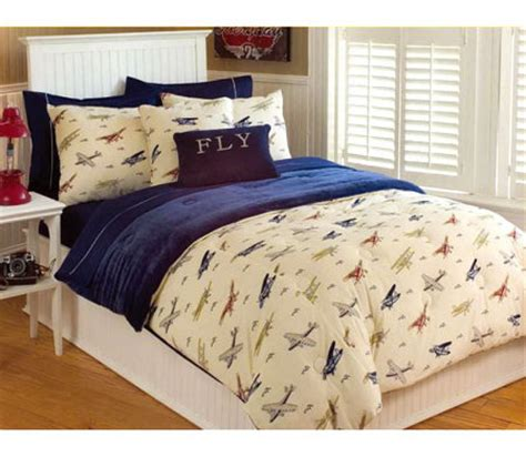 microplush comforter thro vintage airplanes microplush full queen comforter set