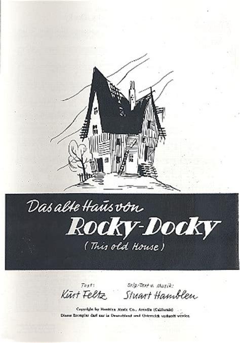 das alte haus rocky docky hamblen das alte haus rocky docky einzelausgabe